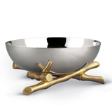 L'Objet Bambou Stainless Steel Bowls | Gracious Style