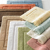 Non-Slip Cotton Bath Mats and Bath Rugs | Gracious Style