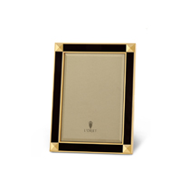 Night Sky Gold and Black Enamel Picture Frame