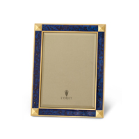Night Sky Gold and Blue Enamel Picture Frame