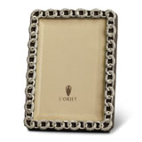 Links Platinum Crystal Picture Frame