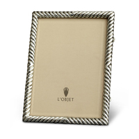 Deco Twist Platinum Picture Frame