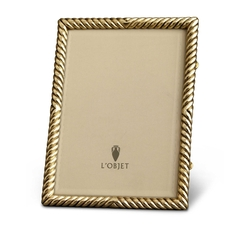 L'Objet Deco Twist Gold Picture Frame | Gracious Style 