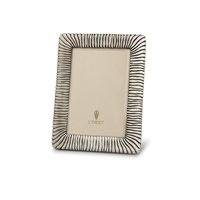 Pleated Platinum Picture Frame