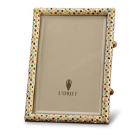 Pave Gold Multicolor Picture Frame