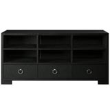 Frances Black TV Stand by Bungalow 5 | Gracious Style