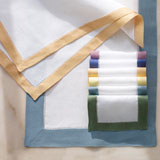 Sferra Filetto Linen Napkins and Placemats &#124; Gracious Style