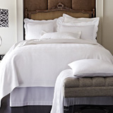 Peacock Alley Giovanni Matelasse Coverlet | Gracious Style