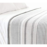 Pine Cone Hill Gradation Ticking Blanket | Gracious Style