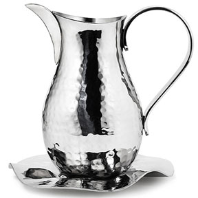 Mary Jurek Filomena Stainless Steel Pitcher &#124; Gracious Style