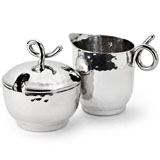 Mary Jurek Galaxy Sugar & Creamer | Gracious Style Official Retailer