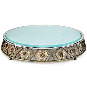 Mary Jurek Morning Glory Cake Platter | Gracious Style