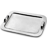 Mary Jurek Nordica Serving Tray with Strap Handles | Gracious Style Official Retailer