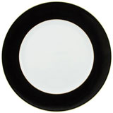 Raynaud Horizon Black Charger Plate | Gracious Style