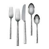 Hammered Stainless Steel Flatware by Vera Wang| Gracious Style
