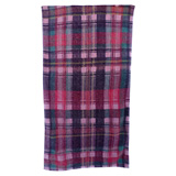 Highland Plaids Pink Bath Towels | Gracious Style