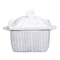 Incanto Stripe Square Oven Casserole Replacement Lid  | Gracious Style
