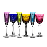 Varga Imperial Colored Crystal Stemware | Gracious Style