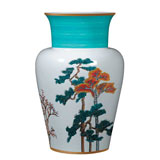 Raynaud Jardins Celestes Porcelain Vase | Gracious Style
