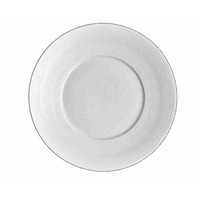 Hemisphere White Dessert Plate Large Center | Gracious Style