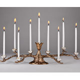 Mary Jurek Odelia Menorah | Gracious Style