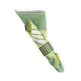 "Amalfi Stripe Napkin Garden Green 22""Sq"