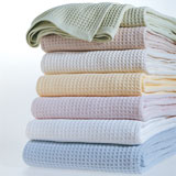 Kingston Waffle Weave Blankets | Gracious Style