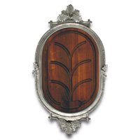 Acorn Oak Leaf Black Forest Carving Board Large, 33 in L x 16.5 in W x 1.5 in T | Gracious Style