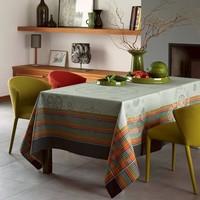 Le Jacquard Francais Kabuki Grey Table Linens | Gracious Style