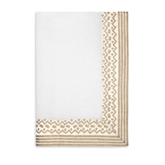 Fortuny Napkins Tapa White & Gold (Set of 4) 21 x 21 in