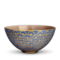 Fortuny Serving Bowl 12 x 6 in Papiro Blue - Large