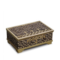Fortuny Decorative Box Medium Rabat Grey