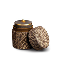 Fortuny Candle Rabat Black