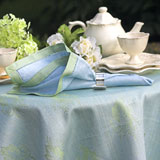 Leaves of Italy Table Linens by Linen Way &#124; Gracious Style