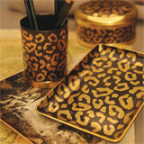 L'Objet Leopard Desk Accessories | Gracious Style
