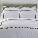 Letto Cable Bedding by Kassatex | Gracious Style