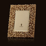 Lorel Gold Picture Frame by L'Objet 8x10, 5x7, 4x6  | Gracious Style