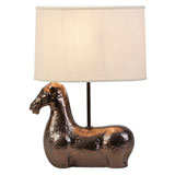 Metallic Horse Lamp by Vietri | Gracious Style