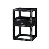 Marco Black Side Table by Bungalow 5 | Gracious Style