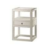 Marco White Side Table by Bungalow 5  | Gracious Style