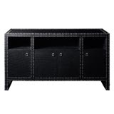Marco Black Cabinet by Bungalow 5 | Gracious Style