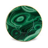 Malachite Saucer 6.5 in