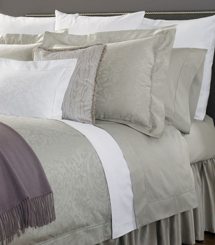 Madelyn Cotton Sheets, Duvet Covers and Shams | Gracious Style