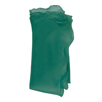 Bias Silk Organza Napkins - Emerald