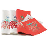 Kim Seybert Sea Odyssey Linen Napkins &#124; Gracious Style
