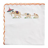 Kim Seybert Bali Elephant Linen Napkins &#124; Gracious Style