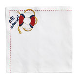 Kim Seybert All Aboard Napkins &#124; Gracious Style