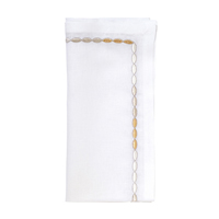 Corded Ombre Napkins - White/Silver/Gold