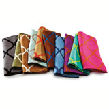 Kim Seybert Tile Linen Napkins &#124; Gracious Style