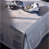 Garnier Thiebaut Bagatelle Flanelle Table Linens &#124; Gracious Style